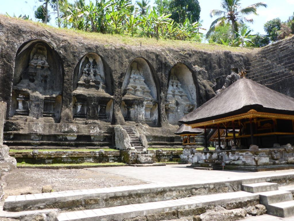 ancient ruin in bali