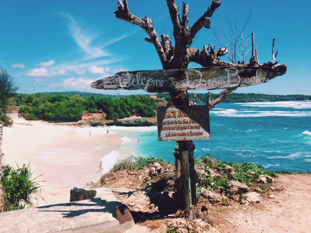 welcome to the beach bali