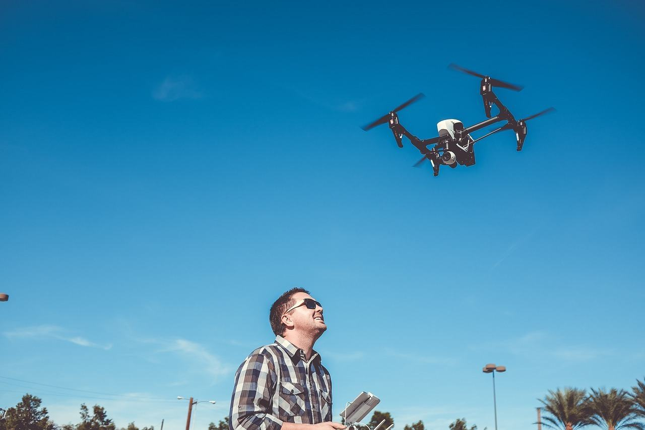 drone with pilot