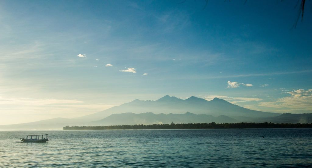 gili islands view backpacking bali