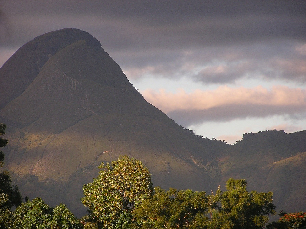 mountains in mozambique