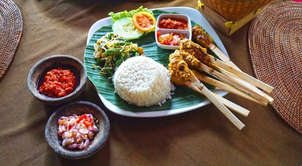 balinese food satay