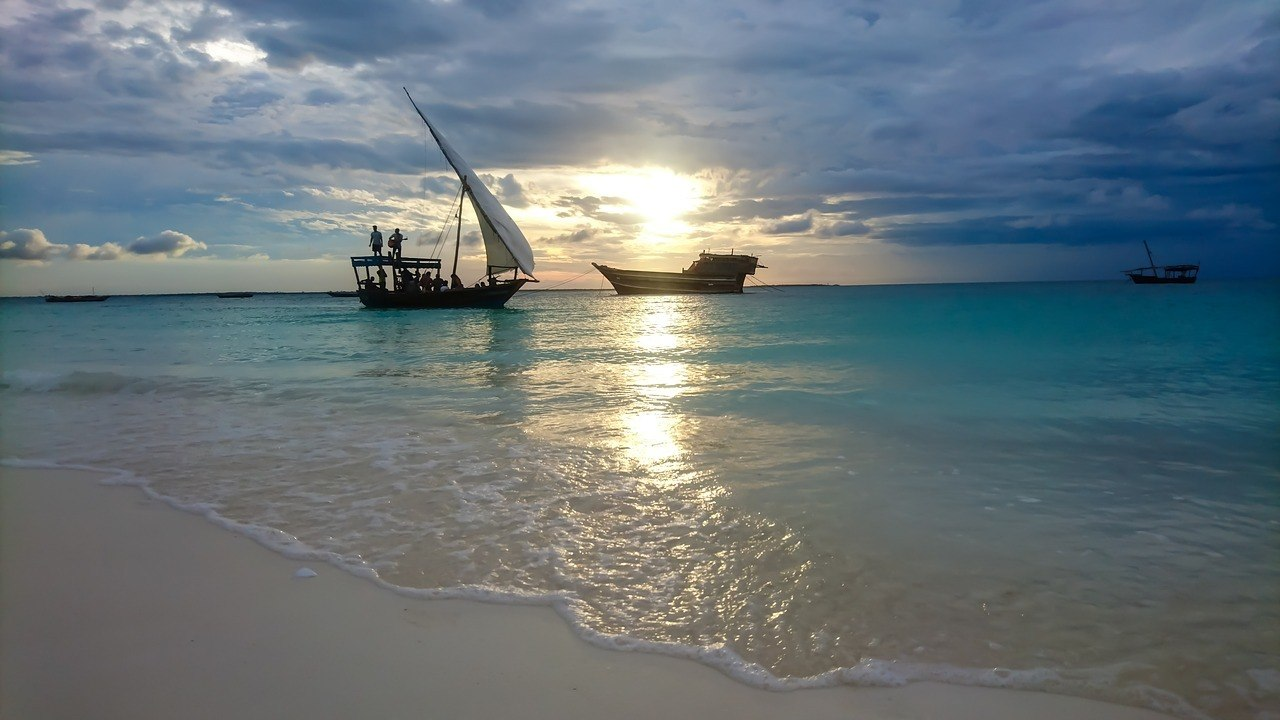 zanzibar and dhows
