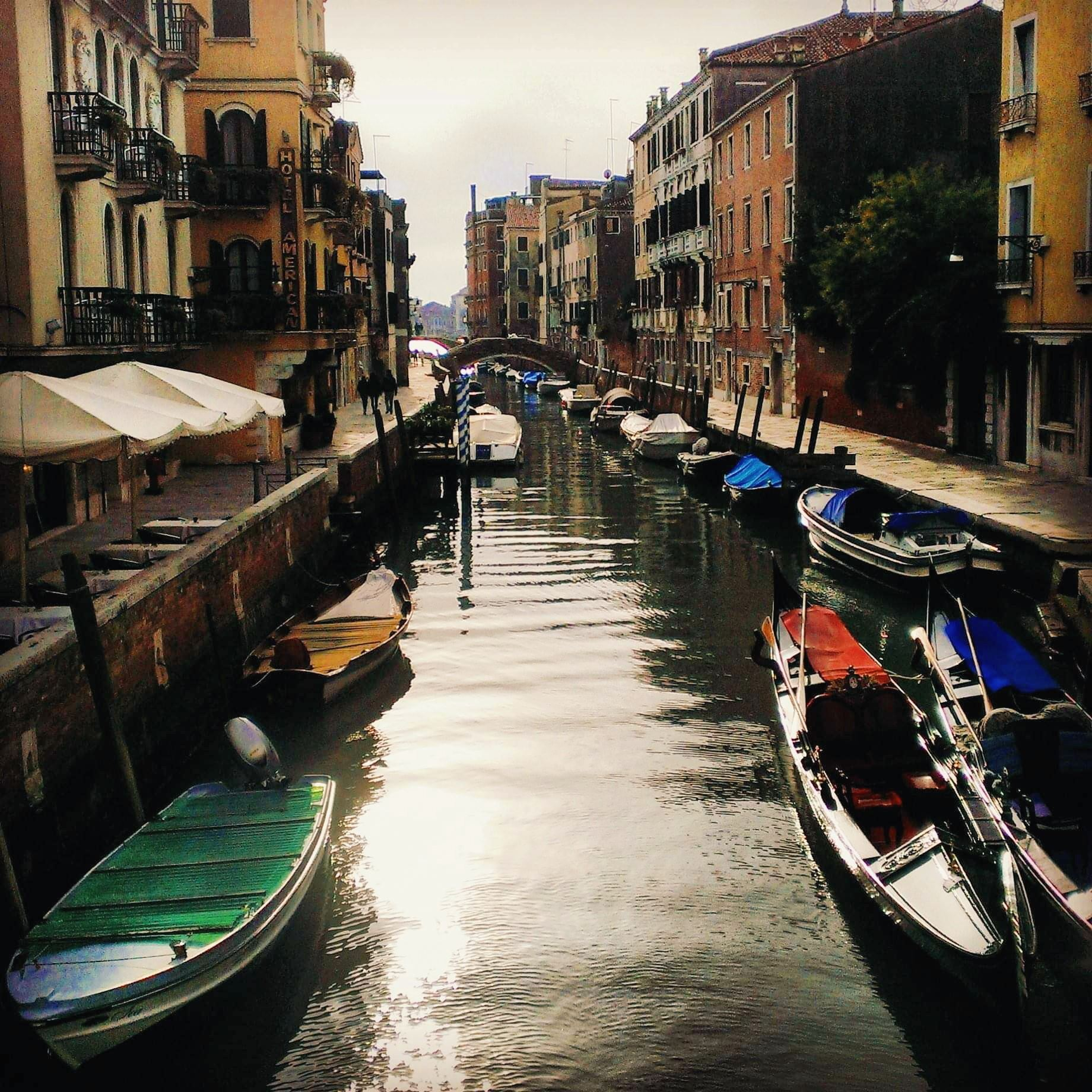 Backpacking Venice