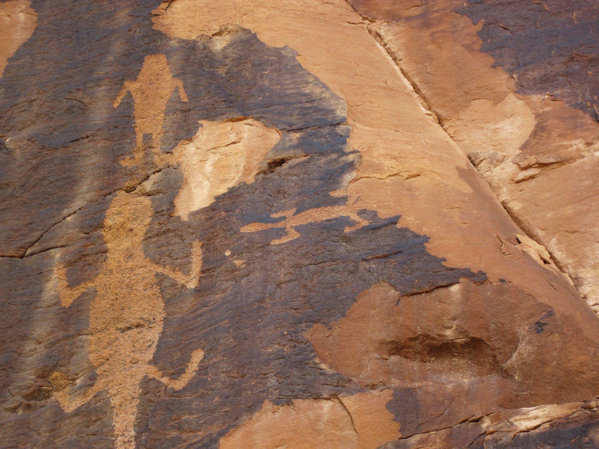 indian petroglyphs at dinosaur national monument