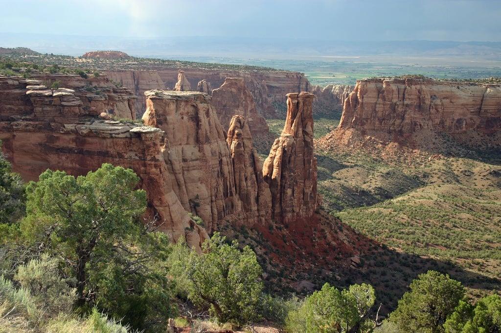 colorado monument desert chimneys