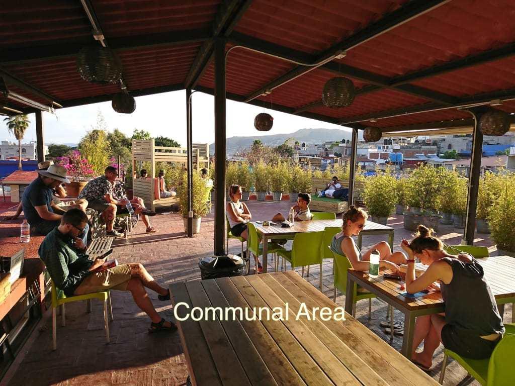 Casa Angel Youth Hostel - Oaxaca best hostels in Mexico