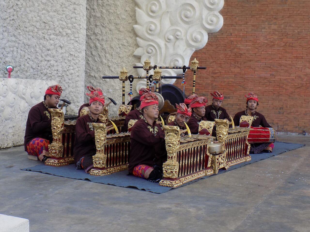 Catch a Balinese gamelan performance