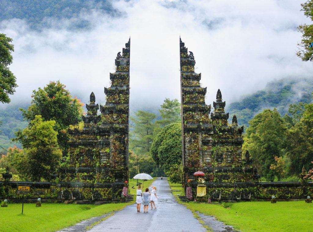 Handara Gate - Famous historical attraction in Bali