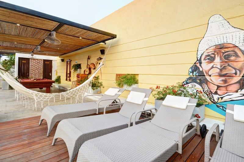 Hostel Masaya Santa Marta best hostels in Colombia
