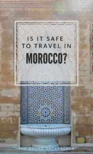 Is it safe in Morocco PIN