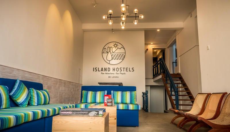 Island Hostel Mount Lavina best hostels in Sri Lanka