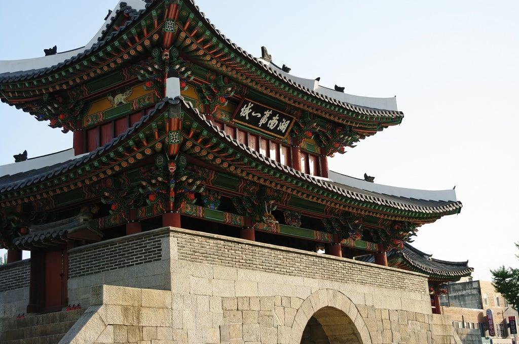 Architecture of the Hanok Village in Jeonju
