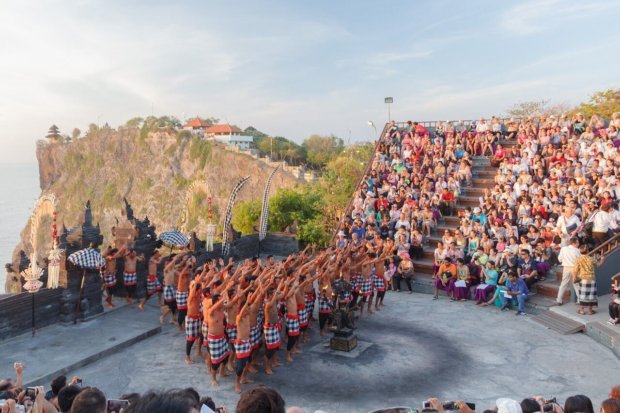 Learn about Bali s Hindu heritage and watch a Kecak dance