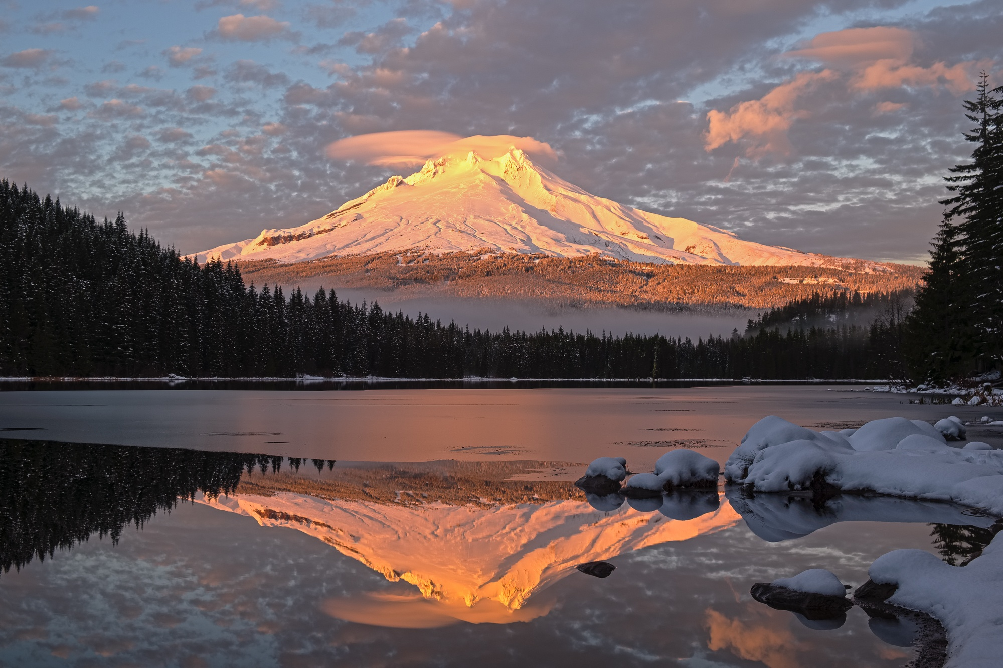 mt hood sunset trillium lake oregon photography roaming ralph