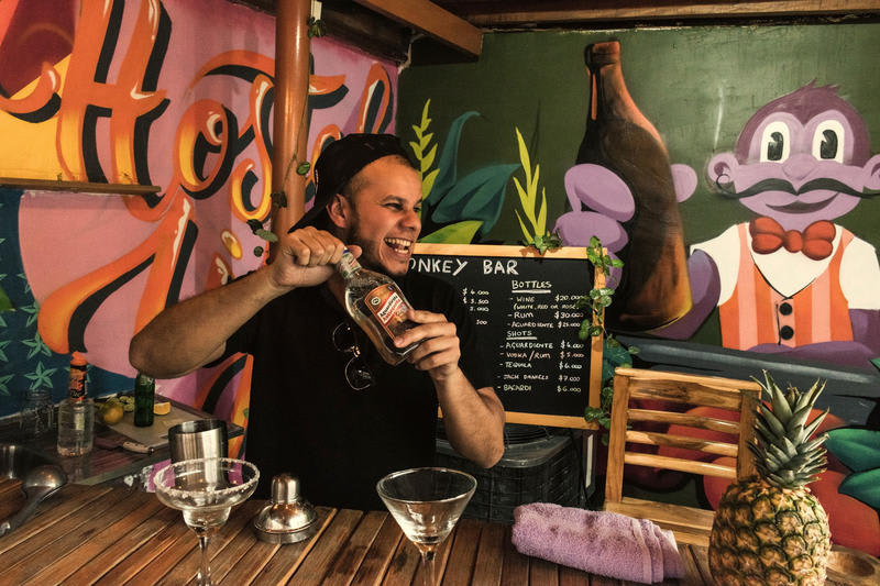 Purple Monkey Hostel Medellin best hostels in Colombia