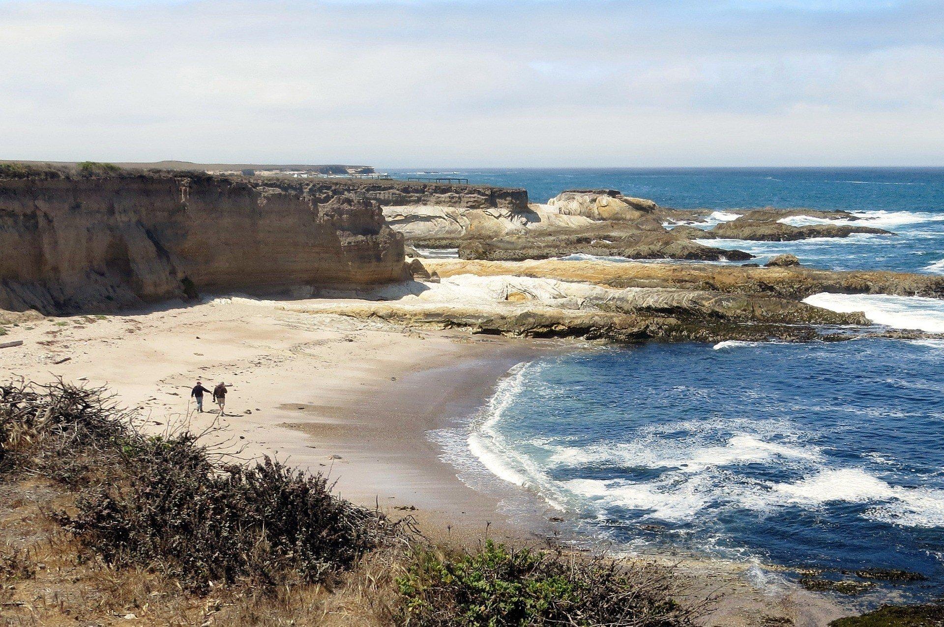 San Luis Obispo Beach in California