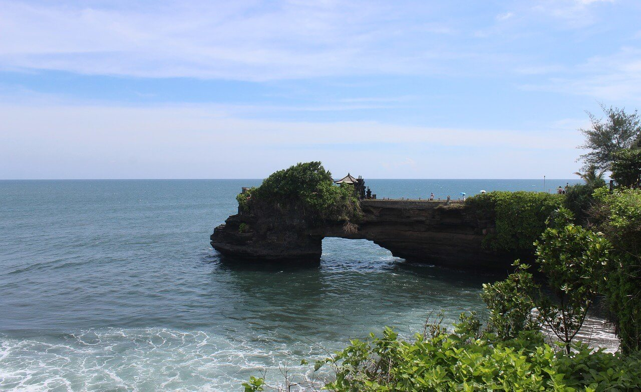 See a stunner of a temple at Uluwatu