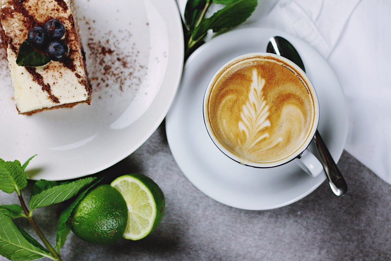 Tuck into coffee and cake Bali style