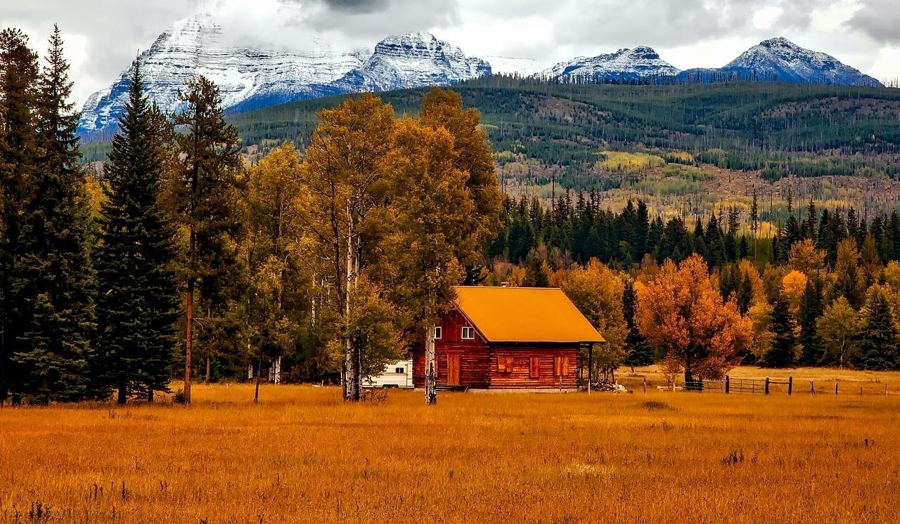 house in the rocky mountain colorado