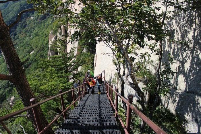 Hiking in Korea