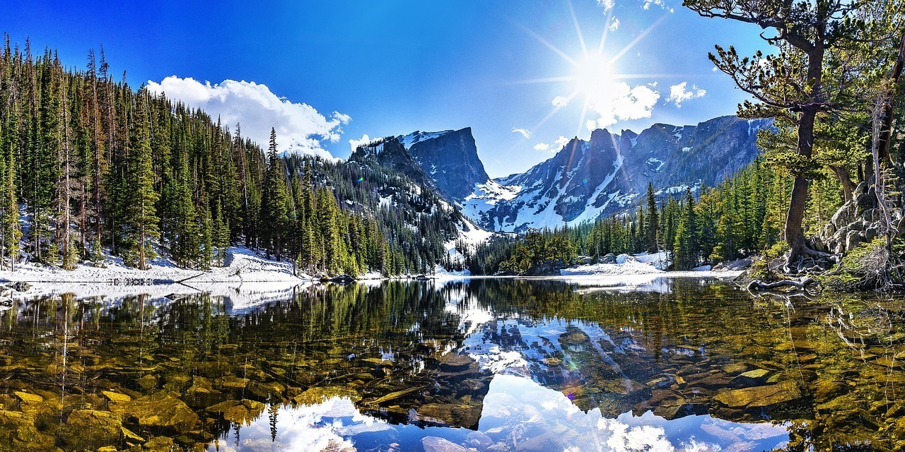 dream lake colorado rocky mountain national park