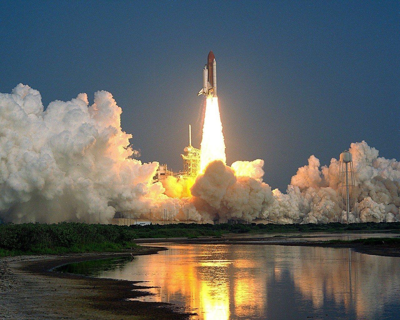 florida liftoff kennedy space station florida
