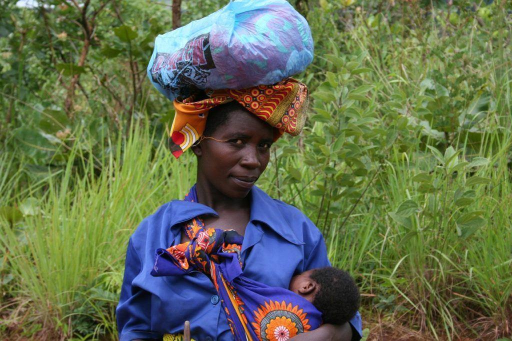mozambique tribal woman