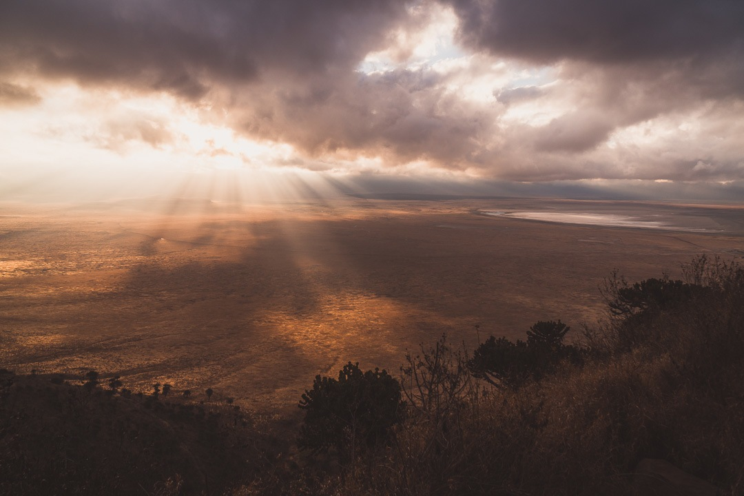 Sunrise over the Ngorongoro Crater | Photo by Ana Pereira