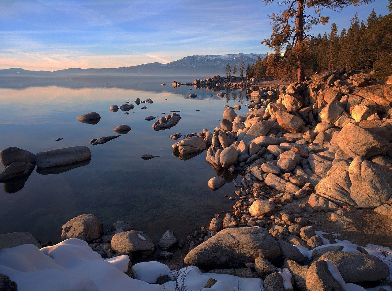 Lake Tahoe is one of the best places to visit in California