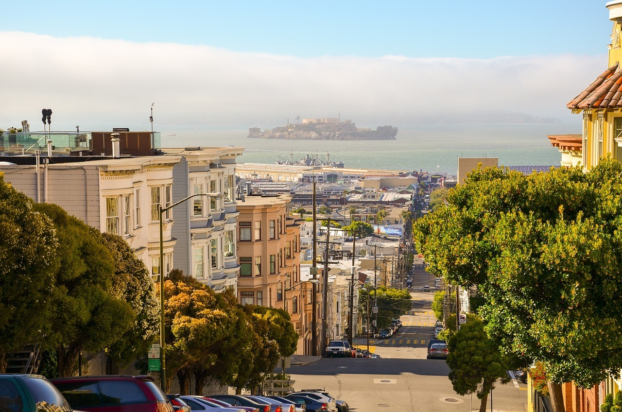 san francisco streets and neighborhoods
