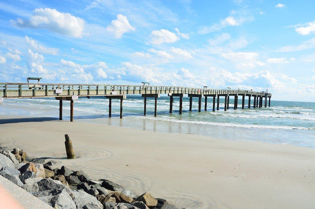 st augustine beach boardwalk florida