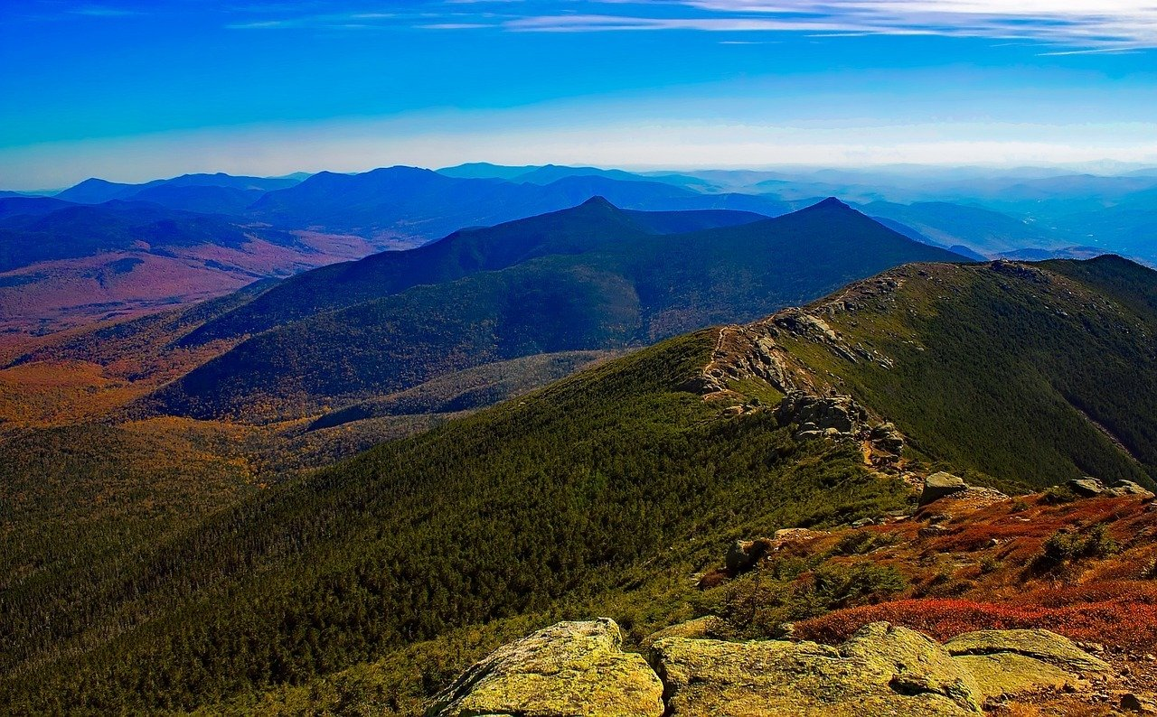 white mountains of new hampshire new england