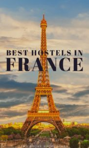 Best hostels in France PIN