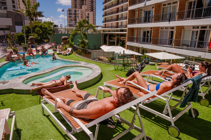 Bunk Surfers Paradise best hostels in Gold Coast
