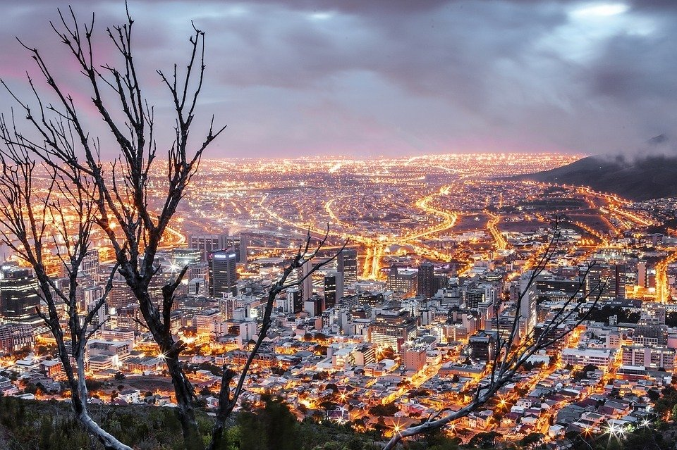 is cape town safe night shot