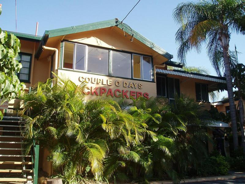 Couple O Days Backpackers best hostels in Gold Coast