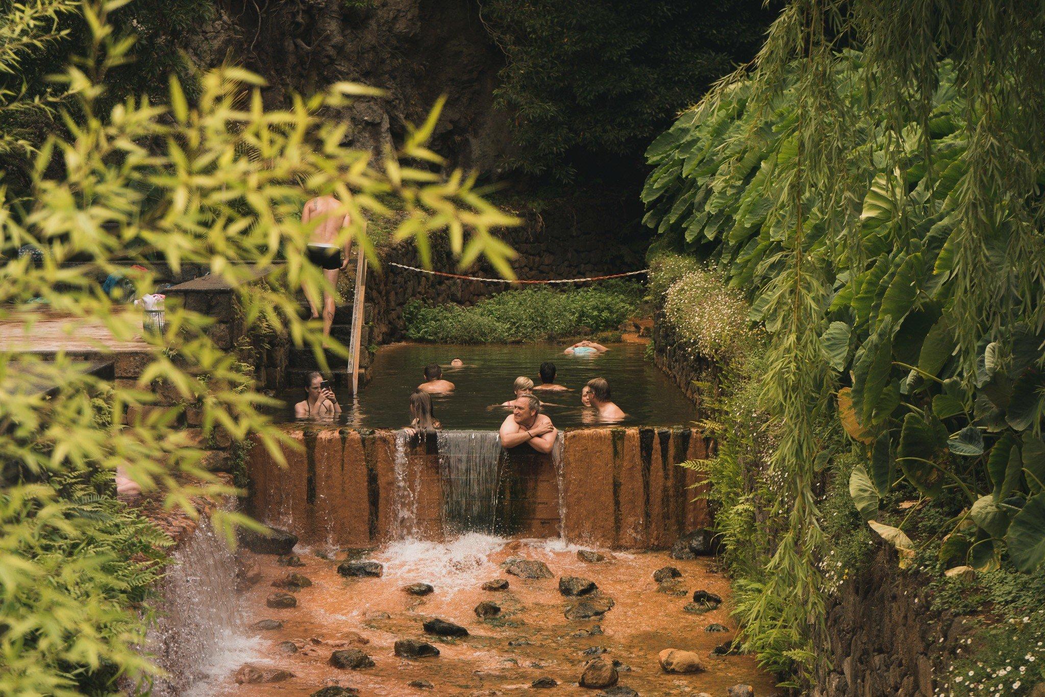best hot springs in Sao Miguel