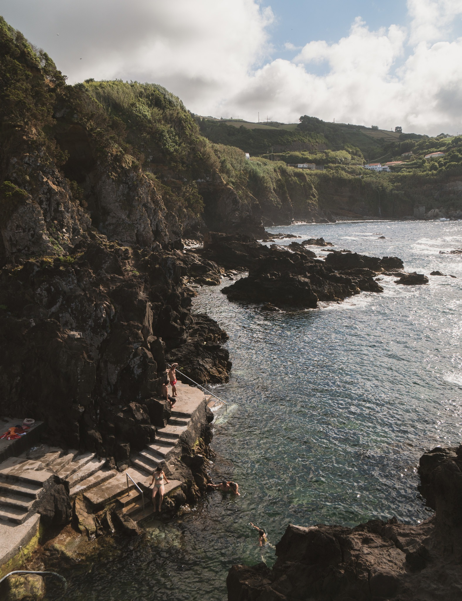 swimming on the Azores