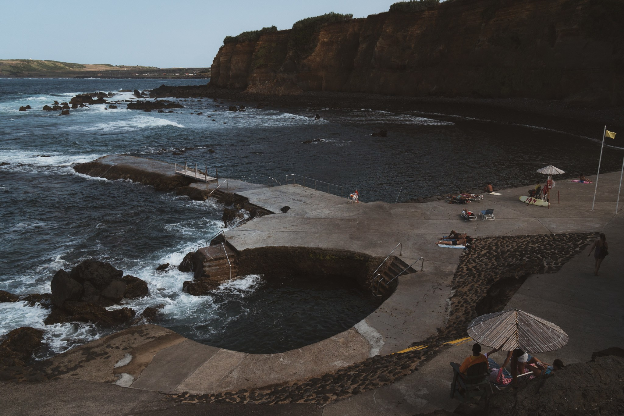 swimming holes on Terceira