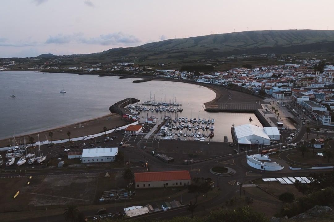 Praia do Victoria on Terceira
