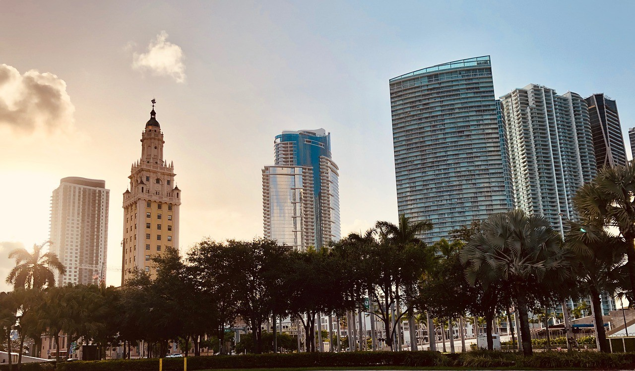 Visiting Downtown Miami for the first time