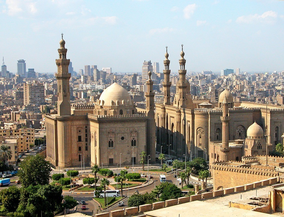 A mosque in Egypt