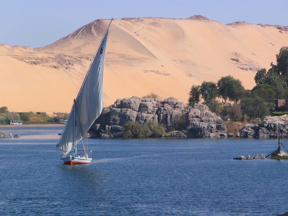 Sailing in Egypt