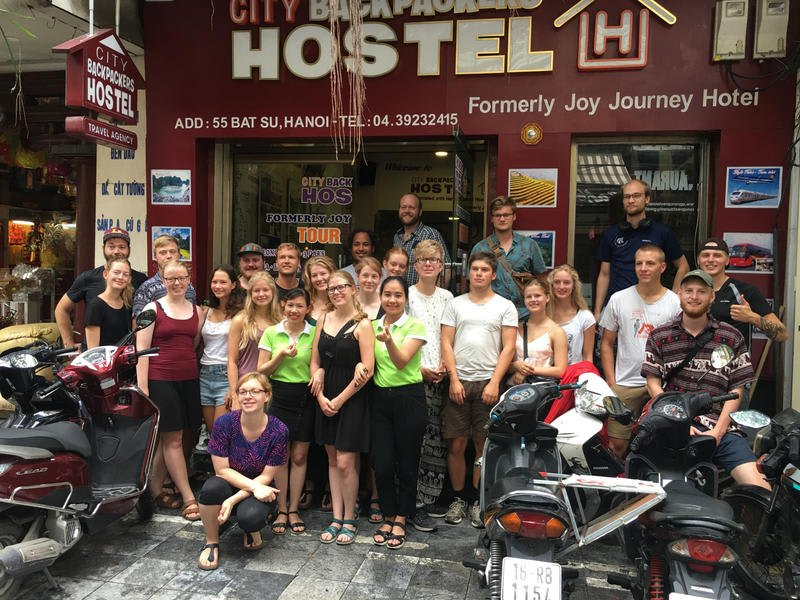 Hanoi City Backpackers best hostel in Vietnam