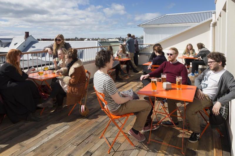 Best Party Hostel in Iceland -Loft HI-Hostel (Reykjavik)