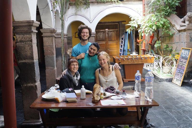Pirwa Backpackers Colonial best hostels in Peru
