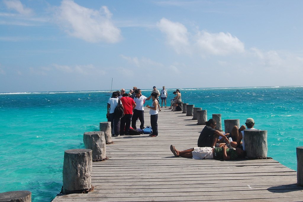 Puerto Morelos and some safe travellers in Cancun