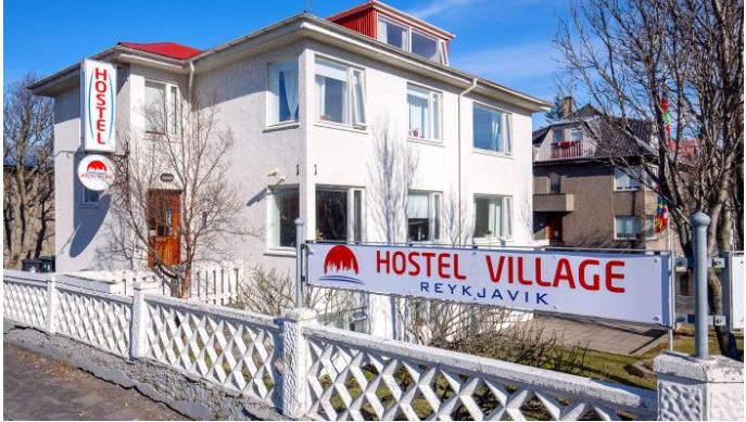 Reykjavik Hostel Village best hostels in Iceland