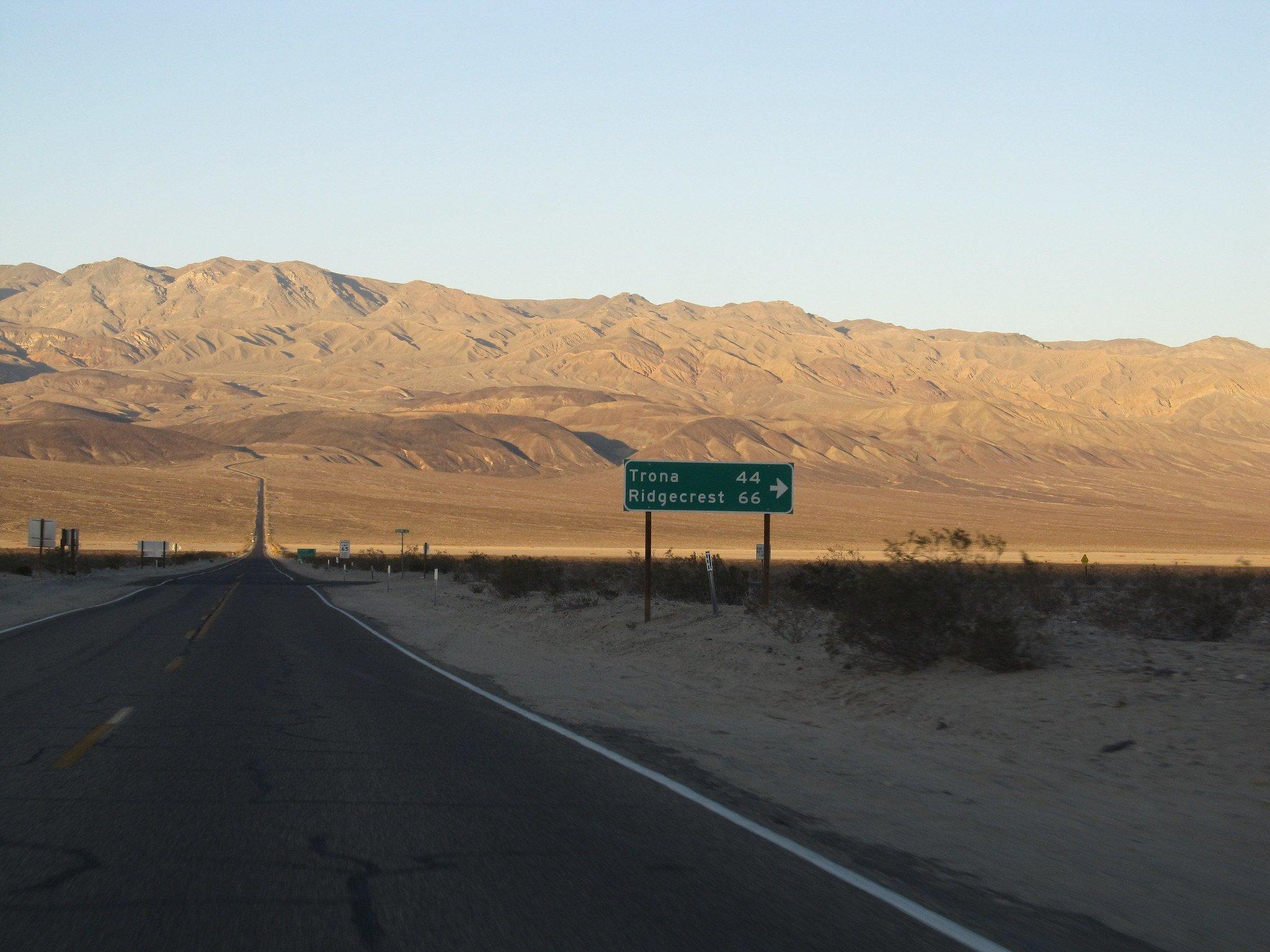 Ridgecrest, Death Valley
